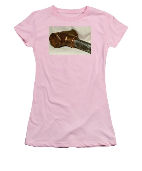 Hammer  Women's T-Shirt (Junior Cut) by Wilma  Birdwell
