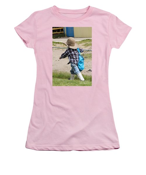 Heading For The Chute Women's T-Shirt (Athletic Fit)