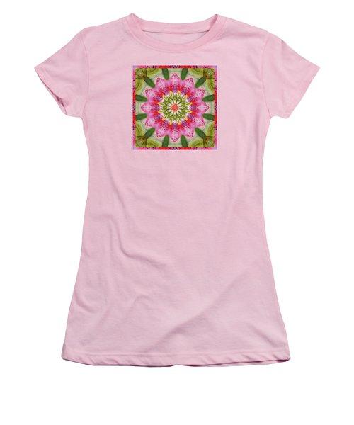 Healing Mandala 25 Women's T-Shirt (Athletic Fit)
