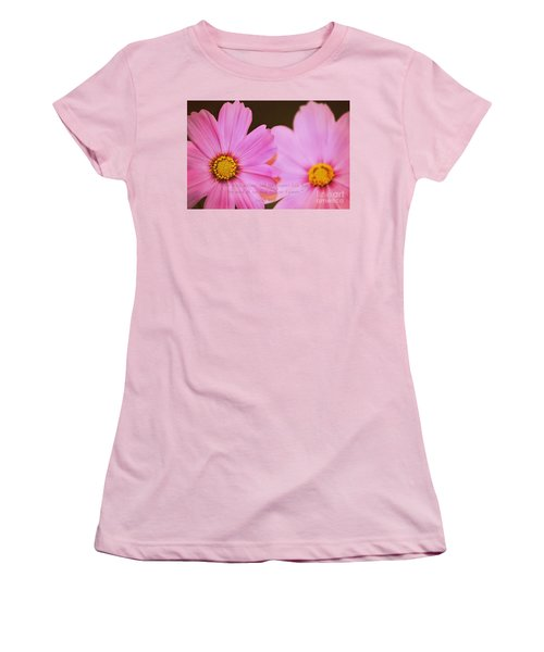 Inspirational Flower 2 Women's T-Shirt (Athletic Fit)