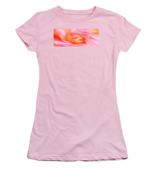 Joy - Rose Women's T-Shirt (Athletic Fit)