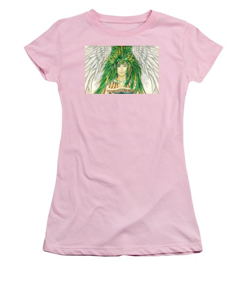 King Crai'riain Portrait Women's T-Shirt (Junior Cut) by Shawn Dall