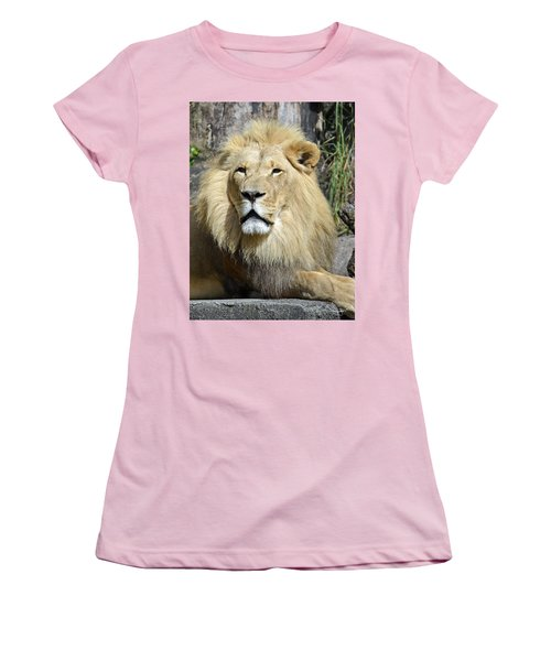 King Of Beasts Women's T-Shirt (Athletic Fit)