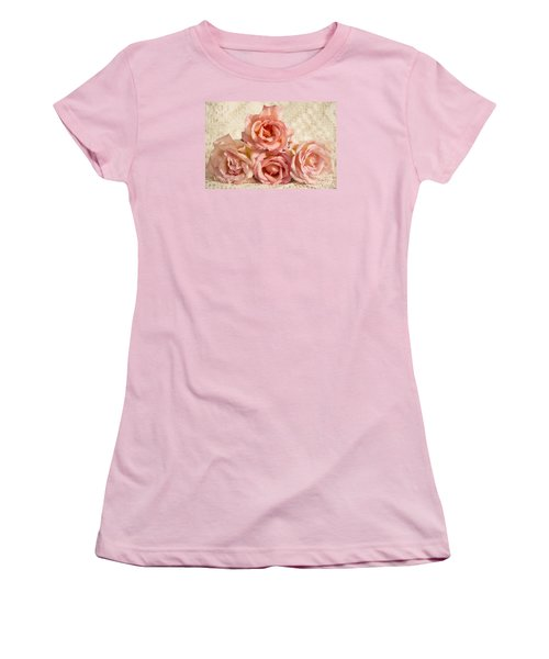 Lace And Roses Women's T-Shirt (Athletic Fit)