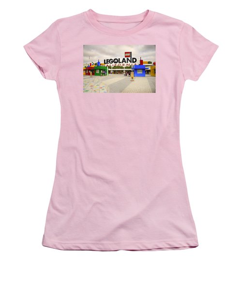 Legoland California Women's T-Shirt (Athletic Fit)