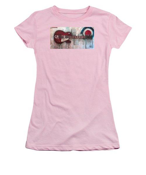 Les Paul Number 5 Women's T-Shirt (Athletic Fit)