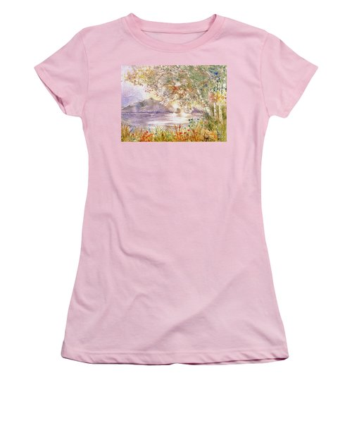 Light Through The Pass Women's T-Shirt (Athletic Fit)