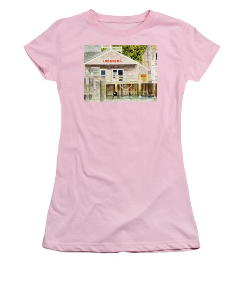 Lobster Shack Women's T-Shirt (Junior Cut)
