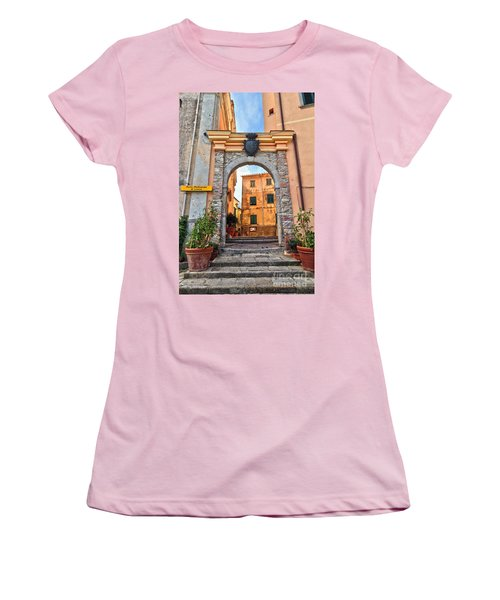 Marciana - Ancient Gate Women's T-Shirt (Junior Cut) by Antonio Scarpi