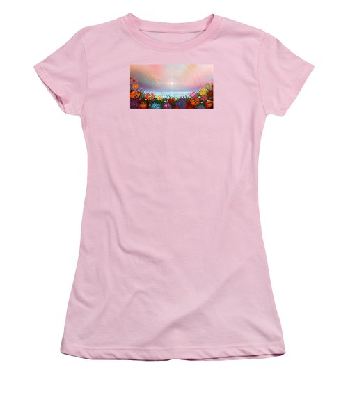 Marflo 3 Women's T-Shirt (Junior Cut) by Angel Ortiz