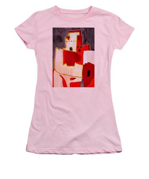 Mesa Verde Original Painting Sold Women's T-Shirt (Junior Cut) by Sol Luckman