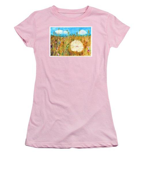 Montana Hike Women's T-Shirt (Junior Cut) by C Sitton