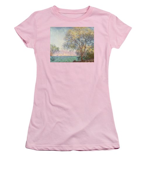 Morning At Antibes Women's T-Shirt (Athletic Fit)