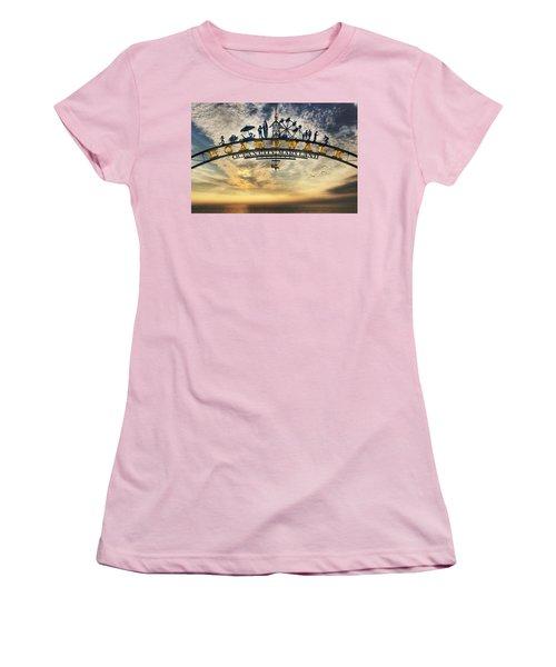 Ocean City Boardwalk Women's T-Shirt (Athletic Fit)