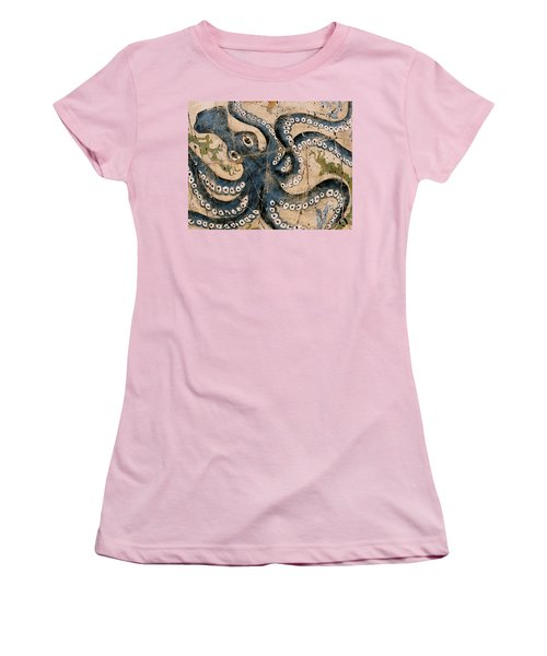 Octopus - Study No. 1 Women's T-Shirt (Athletic Fit)