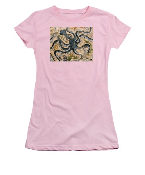 Octopus - Study No. 2 Women's T-Shirt (Athletic Fit)