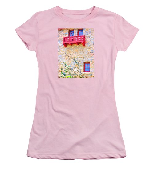 Women's T-Shirt (Junior Cut) featuring the photograph Oh Romeo by Marilyn Diaz