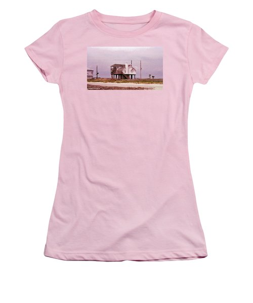 Old Galveston Women's T-Shirt (Athletic Fit)