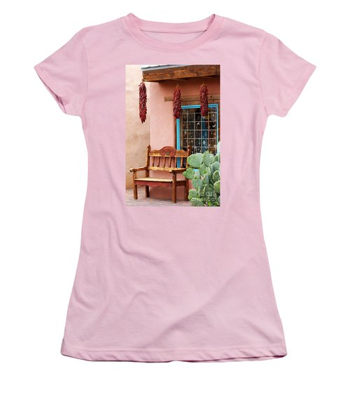 Old Town Albuquerque Shop Window Women's T-Shirt (Athletic Fit)