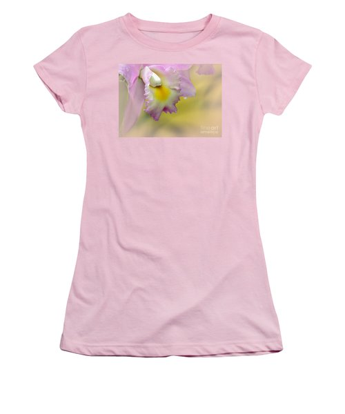 Orchid Whisper Women's T-Shirt (Athletic Fit)