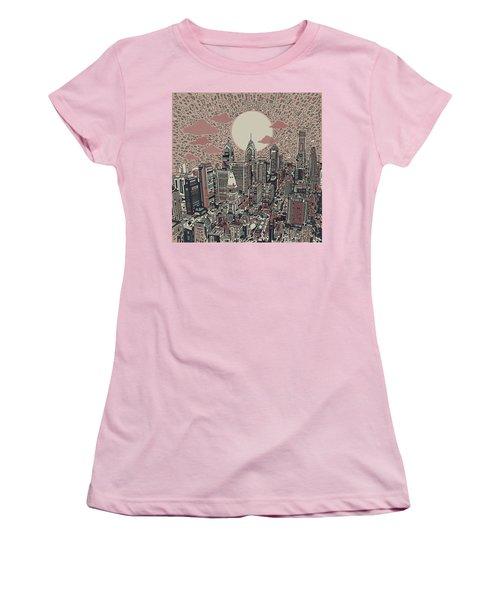 Philadelphia Dream 3 Women's T-Shirt (Athletic Fit)