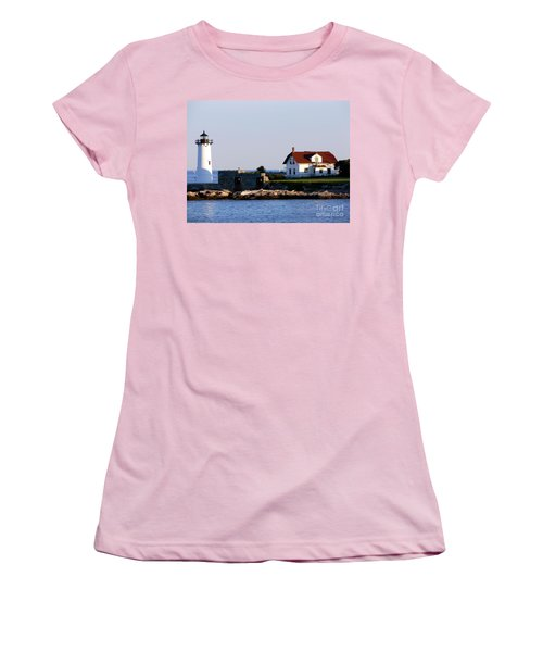 Portsmouth Harbor Light Women's T-Shirt (Athletic Fit)