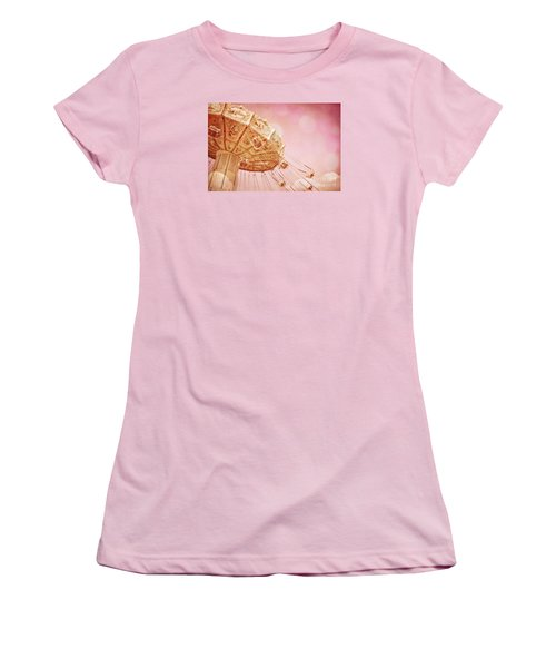 Carnival - Pretty In Pink Women's T-Shirt (Junior Cut) by Colleen Kammerer