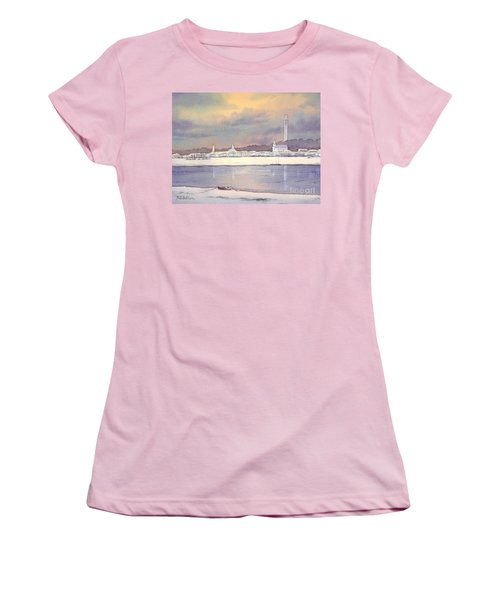 Provincetown Evening Lights Women's T-Shirt (Athletic Fit)