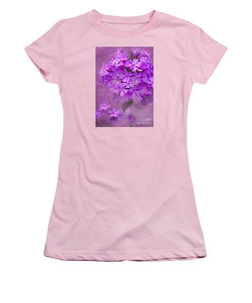 Purple Phlox Women's T-Shirt (Athletic Fit)