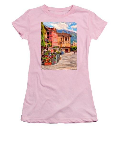 Relaxing In Baveno Women's T-Shirt (Junior Cut) by Michael Pickett