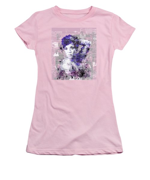 Rihanna 3 Women's T-Shirt (Athletic Fit)