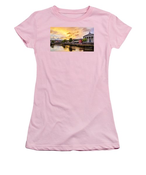 River Lee In Cork Women's T-Shirt (Athletic Fit)