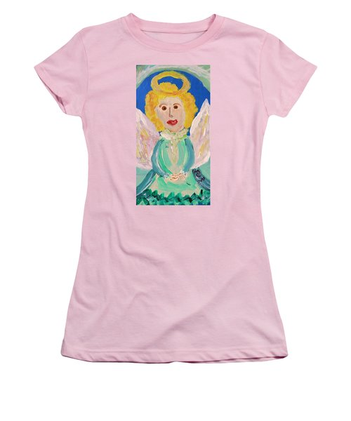 Ruth E. Angel Women's T-Shirt (Junior Cut) by Mary Carol Williams