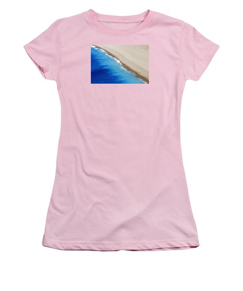 Sea And Sand Women's T-Shirt (Junior Cut) by Wendy Wilton