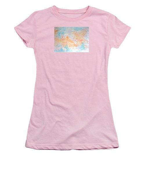 Seaside In Summer Women's T-Shirt (Junior Cut) by Esther Newman-Cohen