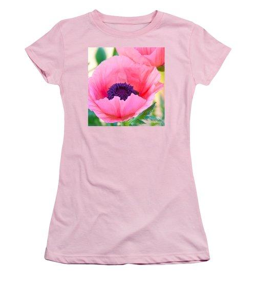 Seductive Poppy Women's T-Shirt (Athletic Fit)