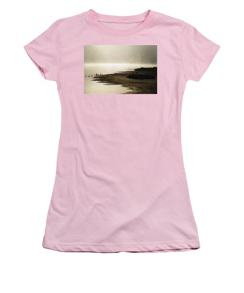 Women's T-Shirt (Junior Cut) featuring the photograph September Morning by David Porteus