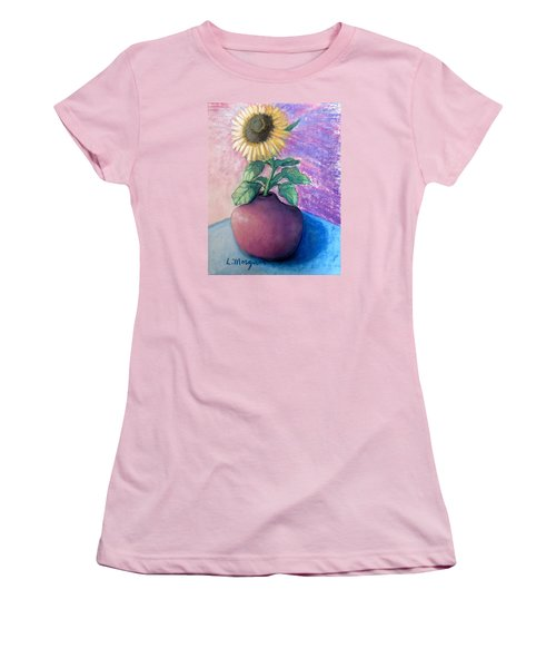Shine On Me Women's T-Shirt (Junior Cut) by Laurie Morgan