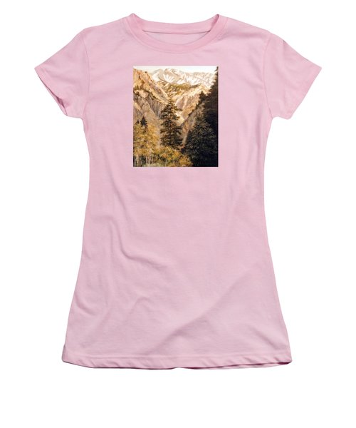 Shirley Temple Mine Women's T-Shirt (Junior Cut) by Donna Tucker