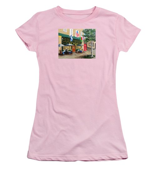 Six Pence Pub Women's T-Shirt (Athletic Fit)