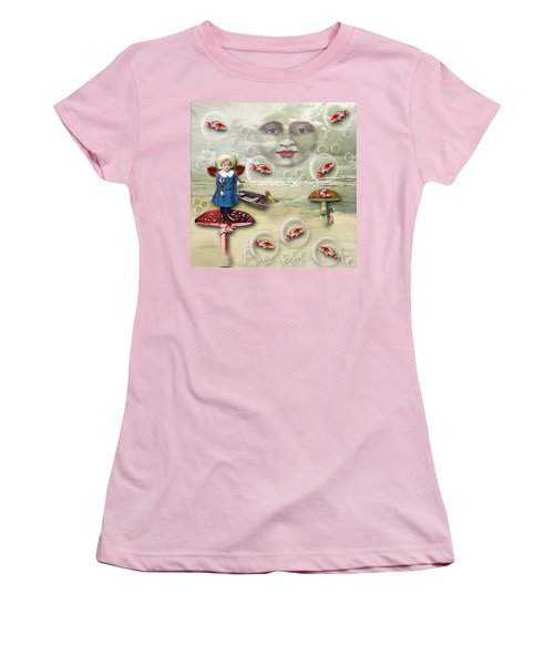 Something Fishy At The Shore Women's T-Shirt (Athletic Fit)