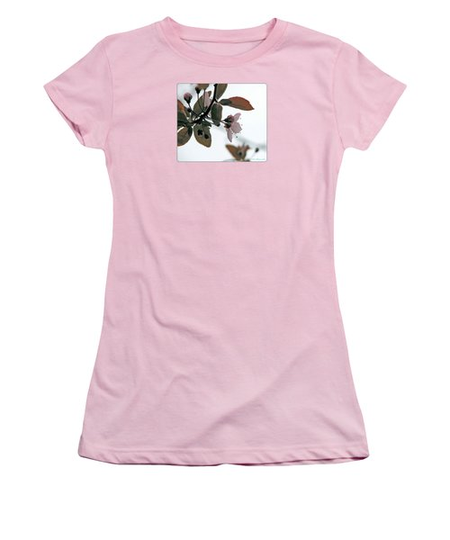 Spring Comes Softly Women's T-Shirt (Junior Cut) by Chris Anderson