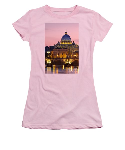 St Peters Basilica Women's T-Shirt (Athletic Fit)