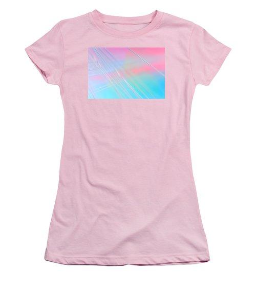 Women's T-Shirt (Junior Cut) featuring the photograph Summer Breeze by Dazzle Zazz