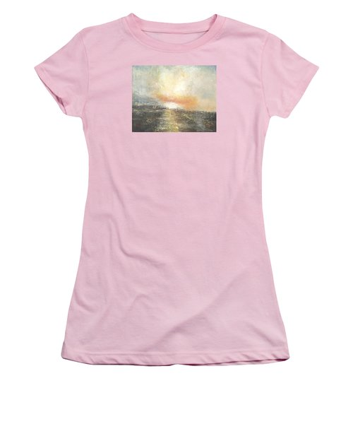 Sunset Drama Women's T-Shirt (Athletic Fit)