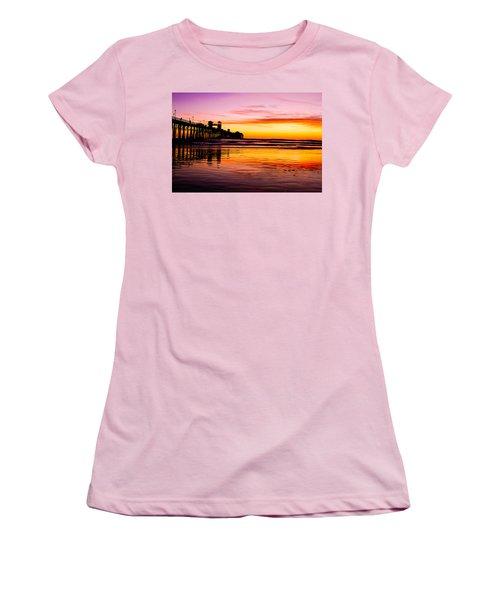 Sunset In Oceanside Women's T-Shirt (Athletic Fit)
