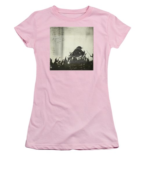Women's T-Shirt (Junior Cut) featuring the photograph Sweet Disposition by Trish Mistric