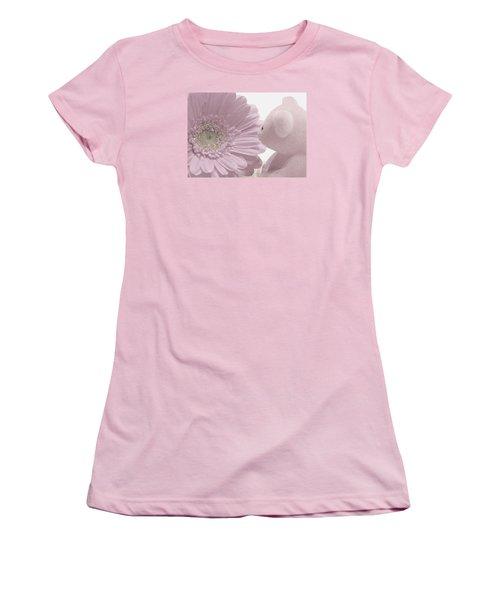 Tenderly Women's T-Shirt (Junior Cut) by Angela Davies