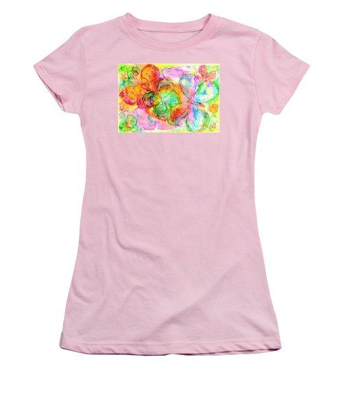 The Butterfly Dance Women's T-Shirt (Junior Cut) by Hazel Holland