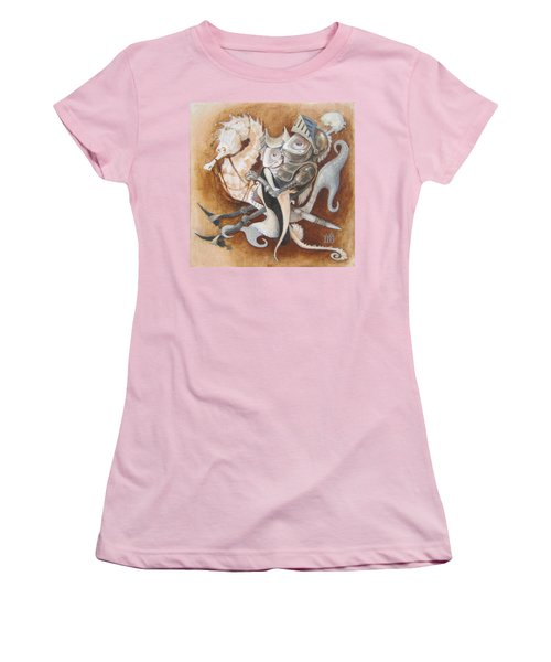 The Knight Tale Women's T-Shirt (Junior Cut) by Marina Gnetetsky